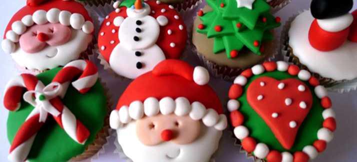 Cupcake-navidad